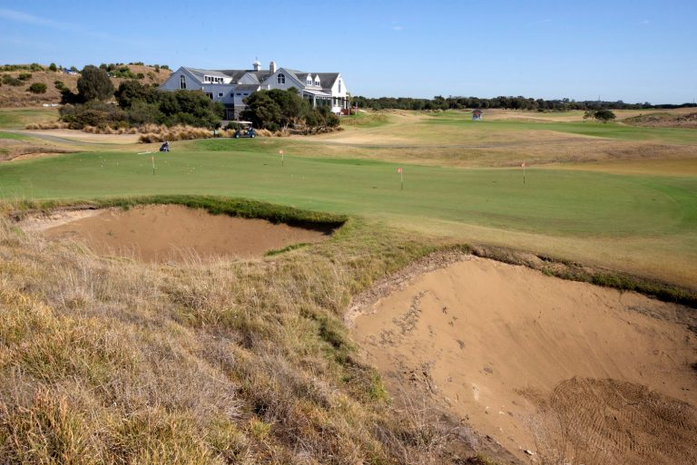 The Dunes golf clubhouse
