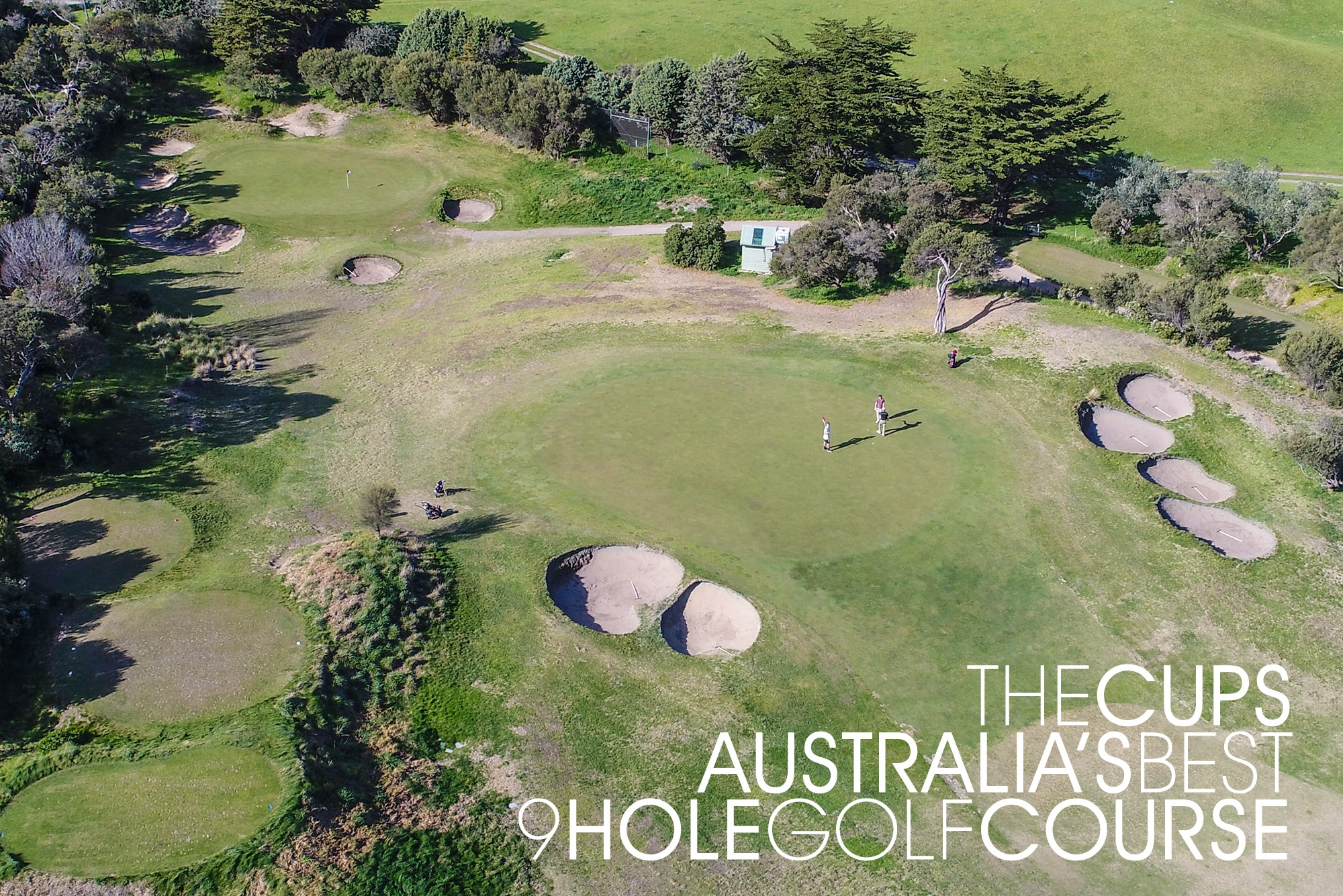 The Cups Australia's Best 9 Hole Golf Course