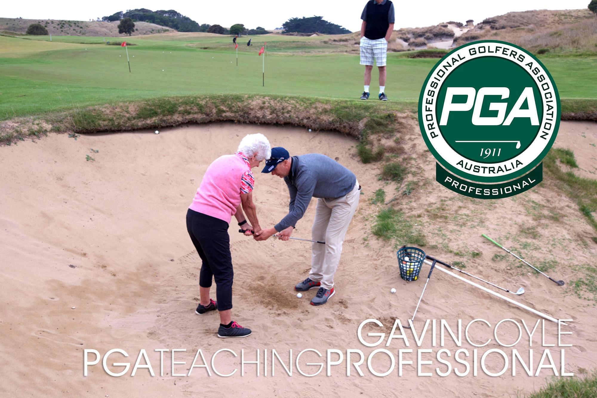 Gavin Coyle PGA Teaching Professional